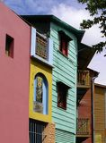 Colourful houses of La Boca Royalty Free Stock Image