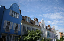 Colourful houses London Royalty Free Stock Photography