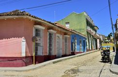 Colourful houses of the Trinidad, Cuba Royalty Free Stock Image