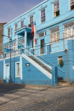 Colourful Houses in Valparaiso Stock Images
