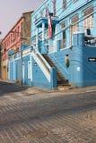 Colourful Houses in Valparaiso Royalty Free Stock Photos