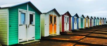 Beach hut royalty free stock photos