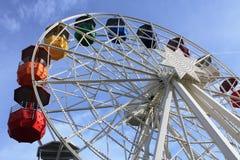 Colourful iść w Barcelona, Hiszpania obrazy stock