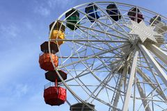 Colourful iść w Barcelona, Hiszpania fotografia stock