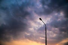 Colourful i dramatyczny niebo Obraz Royalty Free