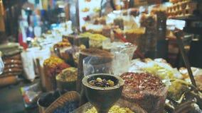 Colourful i fragrant pikantność Handlowy rynek zdjęcie wideo