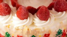 Colourful ice cream cake Royalty Free Stock Image