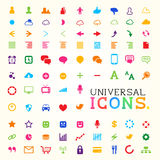 Colourful Icon Set Royalty Free Stock Image