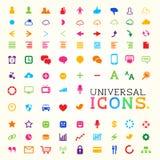 Colourful Icon Set Royalty Free Stock Image