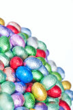 Easter eggs, mini, vertical Royalty Free Stock Image