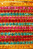 Colourful Indian Bangles. Stock Photography