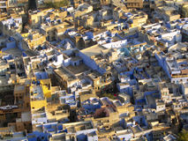 Colourful Indian Rooftops Stock Images