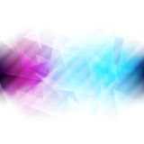 Colourful iridescent vector background Stock Images