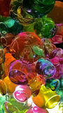 Colourful jelly balls. Brightly colored and irresistibly soft jelly balls that you can jiggle, poke,burst and also used for decorative item Stock Photography