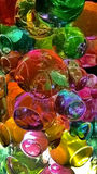 Colourful jelly balls. These brightly coloured jelly balls can b used as decorative item which enhance the beauty of your shelf Royalty Free Stock Image