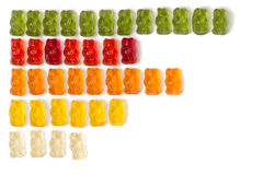 Jelly bears Royalty Free Stock Image