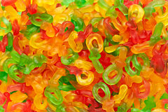 Colourful jelly dummy sweets Stock Photography