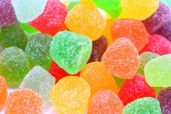 Colourful Jelly Sweets Royalty Free Stock Photo