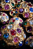 Colourful jewels Stock Photography