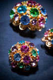 Colourful jewels Royalty Free Stock Image