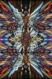Colourful kaleidoscope background Stock Photo