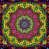 Colourful kaleidoscope Stock Images