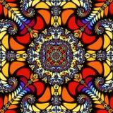 Colourful kalejdoskop royalty ilustracja