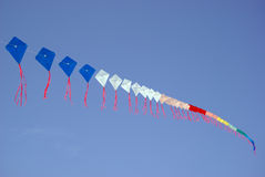 Colourful kite in sky Royalty Free Stock Photo