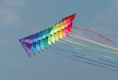 Colourful kites Stock Images