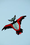 Colourful kites stock image