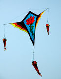 Colourful kites Royalty Free Stock Images
