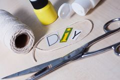 Colourful kolekcja DIY akcesoria Zdjęcie Stock