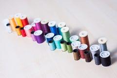 Colourful kolekcja szwalni akcesoria Zdjęcie Stock