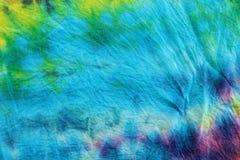 Colourful krawat farbujący deseniowy tło Zdjęcia Royalty Free