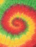 Colourful krawat farbujący deseniowy tło Fotografia Stock