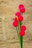 Colourful kwiat waza obraz stock