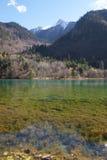 Colourful lake in Jiu Zhai Gou, Sichuan, China Royalty Free Stock Photos
