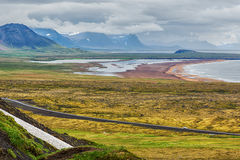 Colourful landscape in Iceland in summer. Stock Photography