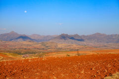 Colourful landscape of Lesotho Stock Images