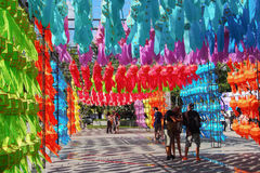 Colourful lantern Royalty Free Stock Photos