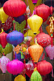 Colourful Lanterns in Hanoi, Vietnam Stock Photo