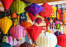 Colourful Lanterns Stock Photography