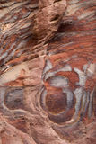 Colourful layers of sandstone Stock Image