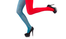 Colourful leggings Stock Photography