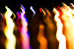 Colourful lights Royalty Free Stock Photo