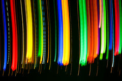 Colourful lights Stock Images
