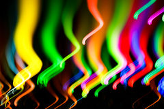 Colourful lights Stock Image