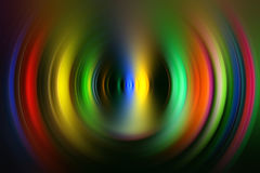 Colourful lights. In motion blur Stock Image
