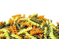 Colourful ślimakowaty makaron Fotografia Royalty Free