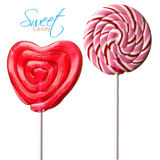 Colourful lollipop Royalty Free Stock Images